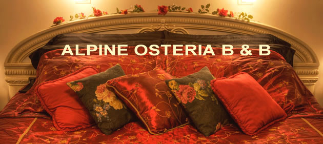 alpine osteria B&B room